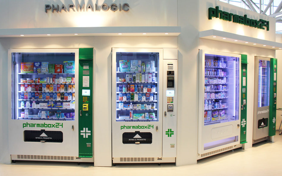 PHARMABOX24: Distributori Automatici Farmacie, modelli 2016